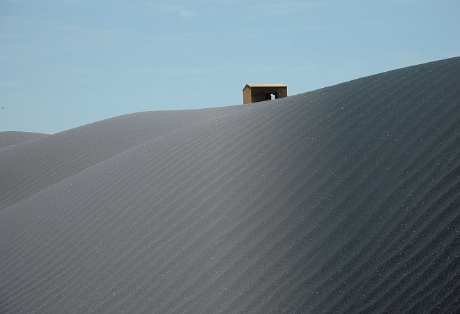 Ilmenite stock at GCO