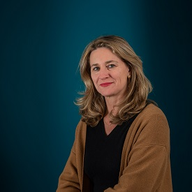 Portrait of Virginie de Chassey, Executive Vice-President of Sustainable Development and Communication at Eramet