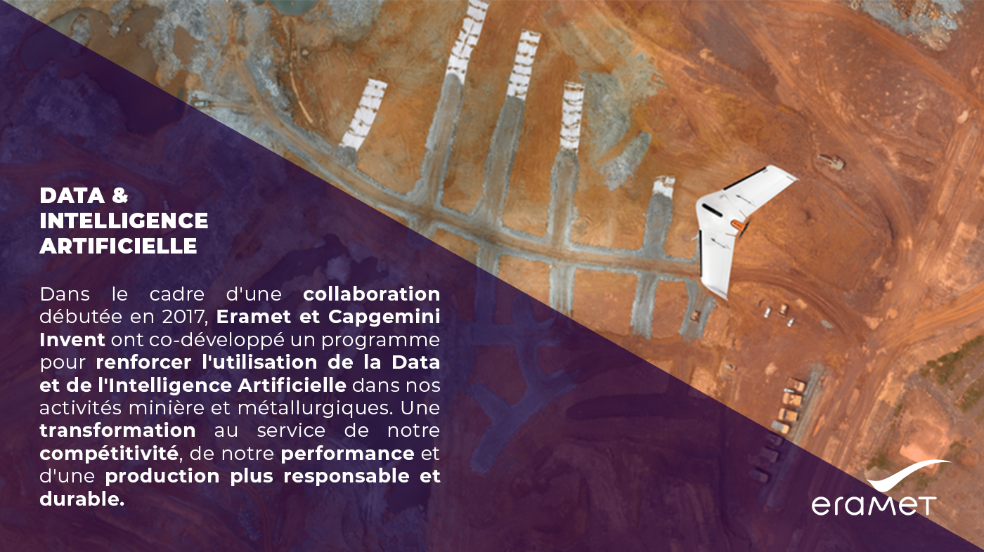 Illustration de la collaboration entre Capgemini Invent et Eramet