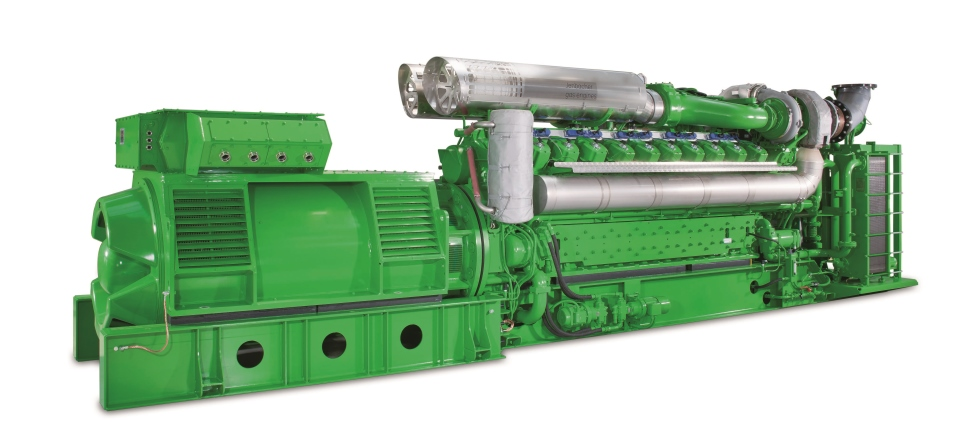 Gas engine, called Energy Recovery Unit (ERU) made by Eramet Norway Sauda and Clarke Energy