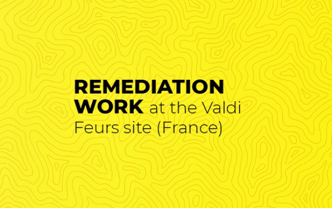 Remediation work at the Valdi Feurs site (France)