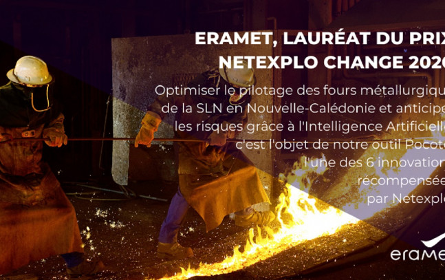 Netexplo Change 2020 award in the Artificial Intelligence category