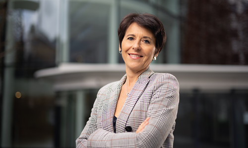 Portrait of Christel Bories, Eramet group's CEO