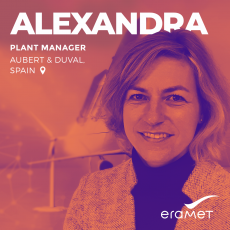 Portrait of Alexandra, Plant Manager at Aubert & Duval